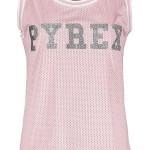 pyrex-donna-tank-top-canotta-rete-logo-basic-glitter-donna