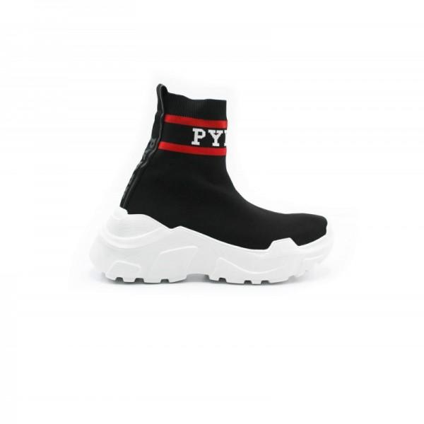 scarpe-pyrex-donna-nerorossobianco-py20184-ro